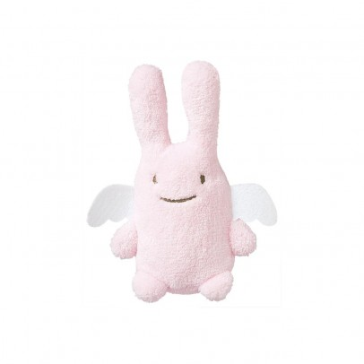 Trousselier Pale pink Angel Bunny rattle-listing