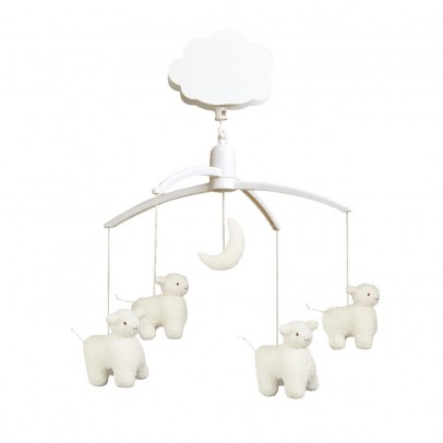 Trousselier Mobile musical Moutons-listing