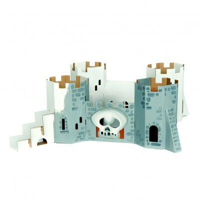 Calafant Pirates fortress in cardboard-listing