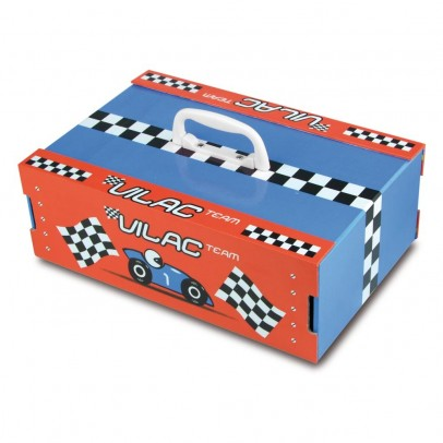 Vilac Race track in suitcase-listing