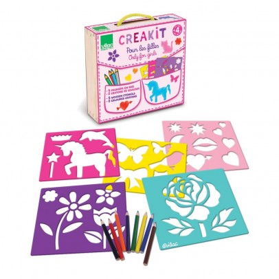 Vilac Creative Kit for girls-listing