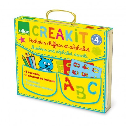 Vilac Letters and Numbers Creative Kits-listing