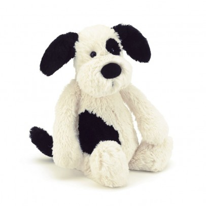 Jellycat Black and Cream Bashful Puppy-listing