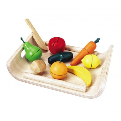 Plan Toys Fruits and Vegetables to cut-listing