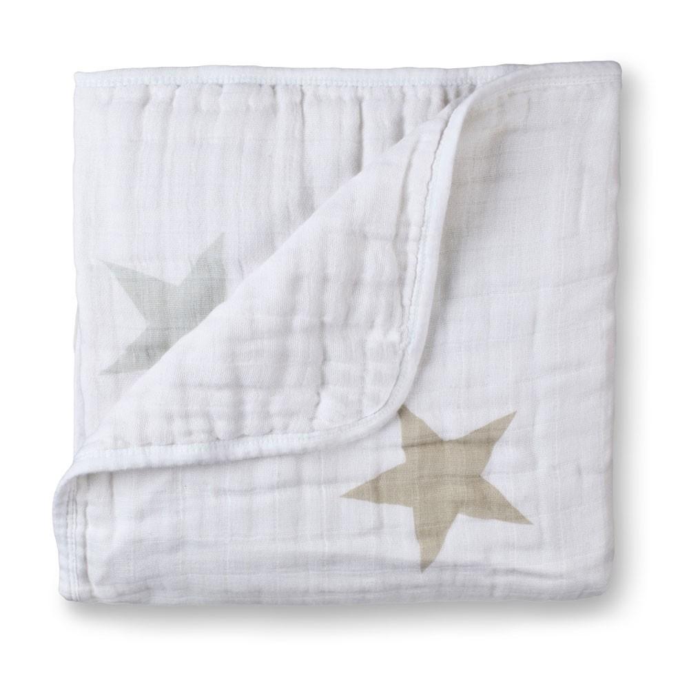 Decke Sterne decke sterne maulwurfsfarben und grau aden anais design baby
