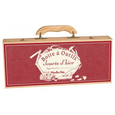 Moulin Roty 6-piece Tools Case-listing