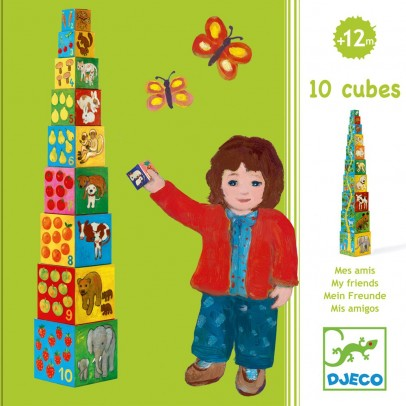 Djeco Cube Mes Amis-listing