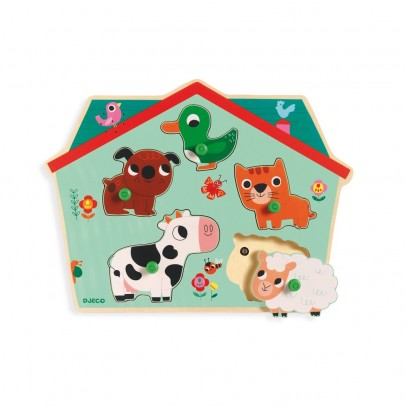 Djeco Ouaf Woof Soundy Puzzle-product