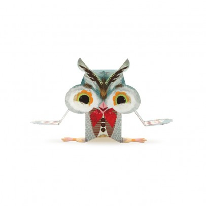 Djeco Wood - Paper toys-listing