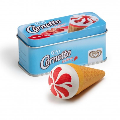 Erzi Ice cream Cornetto strawberry-listing
