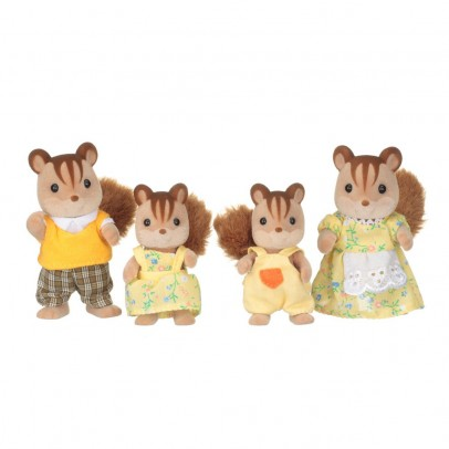 Sylvanian Red Squirrel Family-listing