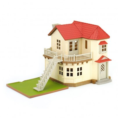 Sylvanian Großes Haus mit Beleuchtung-listing