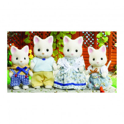Sylvanian Silk Cat Family-listing