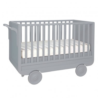 Laurette Convertible Trolley Bed 60x120 cm - Light Grey-listing
