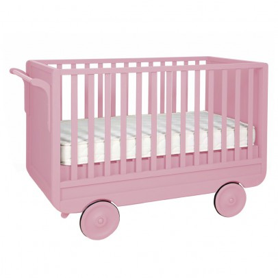 Laurette Convertible Trolley Bed 60x120 cm - Vintage Pink-listing