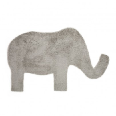 Pilepoil Elephant carpet - Light grey-listing