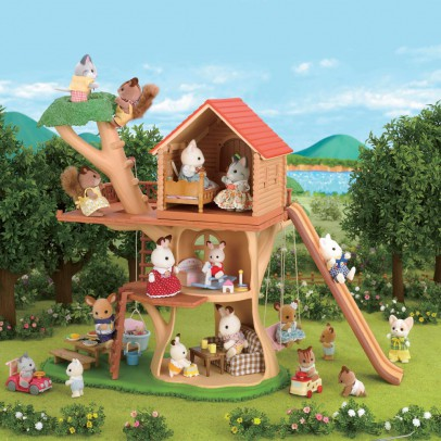 Sylvanian Treehouse-listing