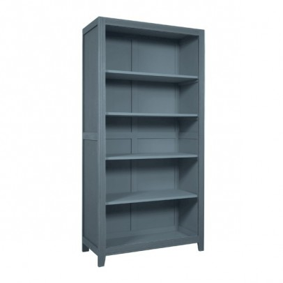 Laurette Parisian Bookcase Dark Grey Listing