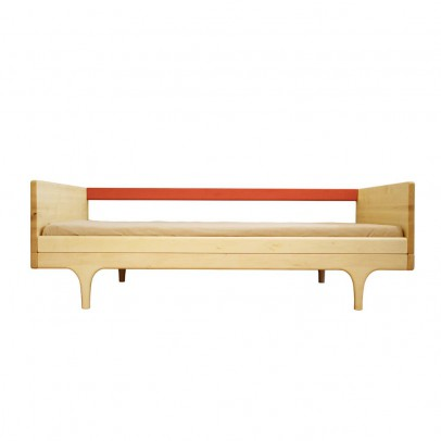Kalon Studios Junior Caravan Bed - Coral Red-listing