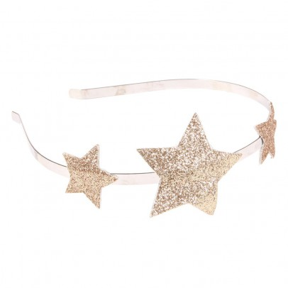 Numero 74 Golden Headband -listing