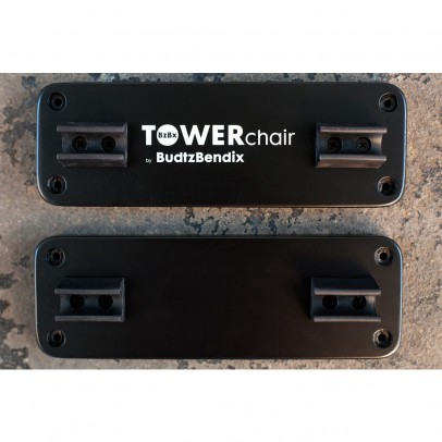 Budtzbendix Wall fixation for Towerchair - Black-listing