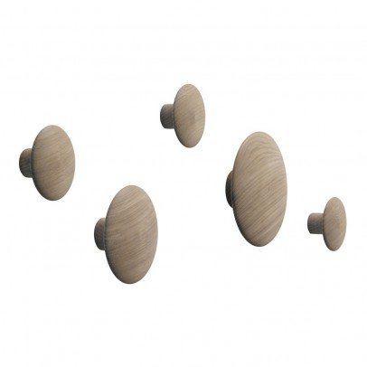 Muuto Set of 5 natural Peg The dots-listing