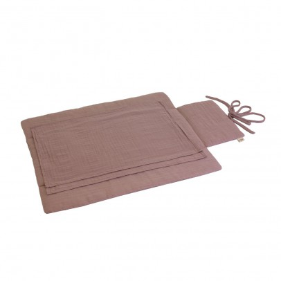 Numero 74 Travel changing mat - dusky pink-listing