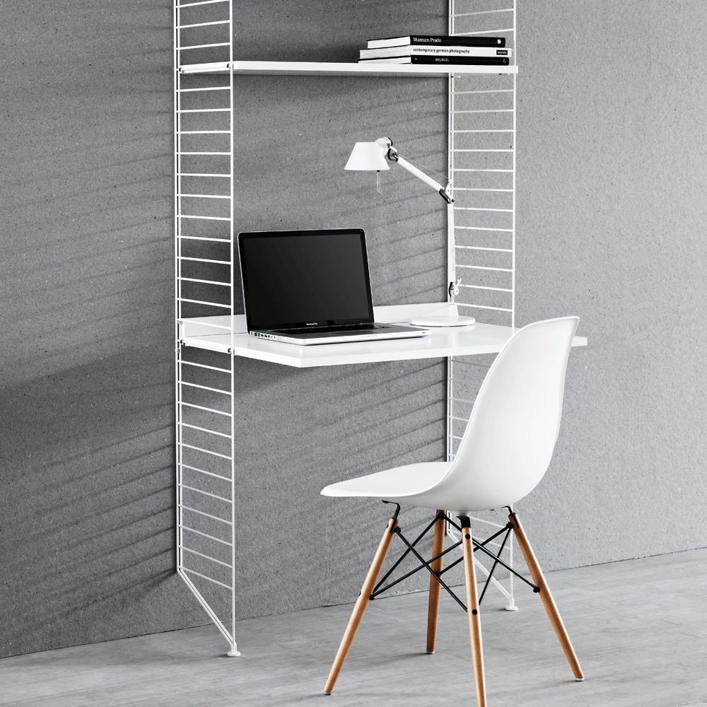 Estanteras de oficina blancas Blanco String Furniture Design