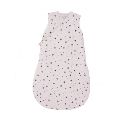Polder Girl Off-white baby sleeping bag - grey stars-listing