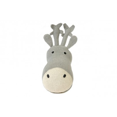 Anne-Claire Petit Reindeer head - grey-listing
