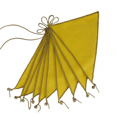 Numero 74 Bunting Flags - sunflower yellow-listing