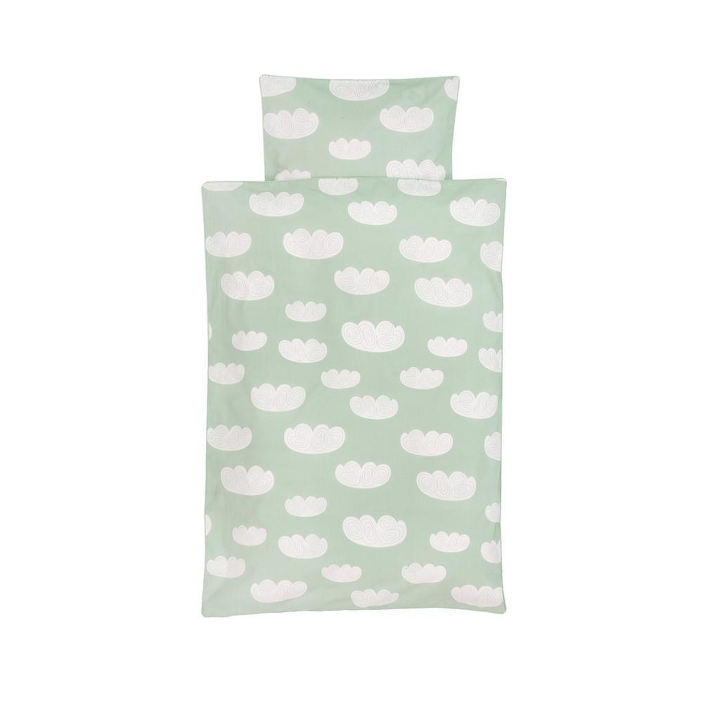 Bettwäsche Mintgrün wolken bettwäsche mintgrün 100x140 cm ferm living