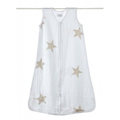 aden + anais  Light baby sleeping bag - taupe stars-listing