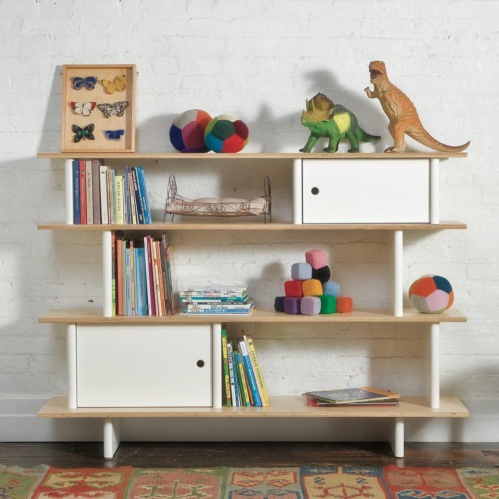 Mini Bücherregal - Birkenholz Oeuf NYC Design Kind