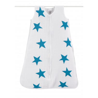 aden + anais  Light baby sleeping bag - Blue stars-listing