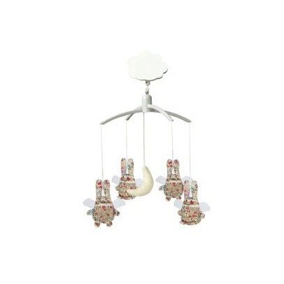 Trousselier Liberty Angel Bunny musical mobile-listing
