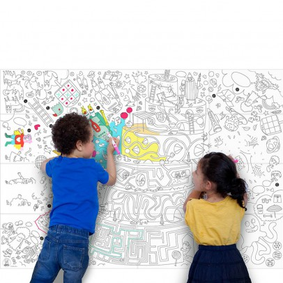 Omy Giant Play Colouring-in Poster-listing