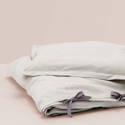 garbo&friends Gray bed linen set-listing