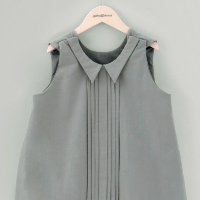 garbo&friends Gigoteuse Pleats Gris vert-listing