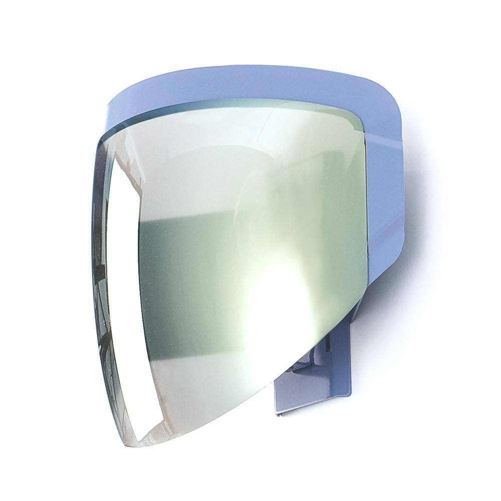 Lampe applique casque de moto Gris Moustache Design Adolescent