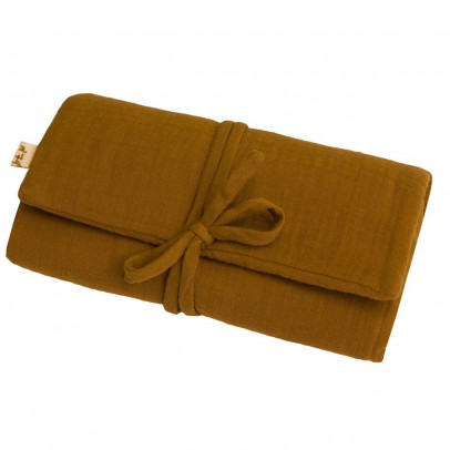 Numero 74 Travel changing mat - Mustard yellow-listing