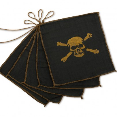 Numero 74 Pirate bunting flags-listing