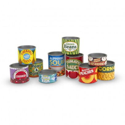Melissa & Doug Canned Food Play Set-listing