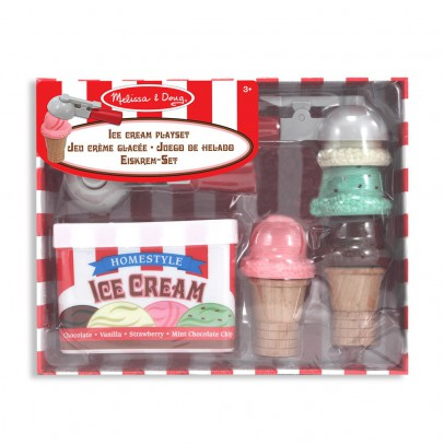 Melissa & Doug Scoop & Stack Ice Cream Cone Playset-listing