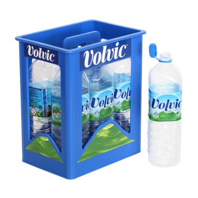 Polly Crate of Volvic water-listing