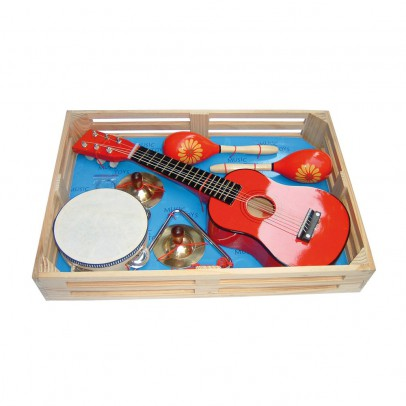 Bass & Bass Child's musical box-listing