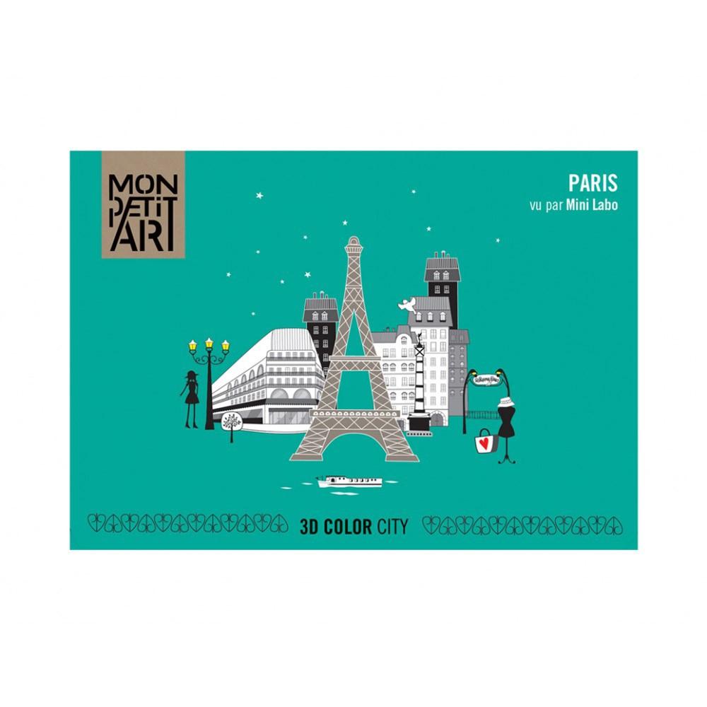 3D Malbuch Paris Mon Petit Art Spiele und Freizeit Teenager ,