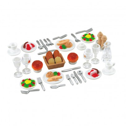 Sylvanian Dinner set for two-listing