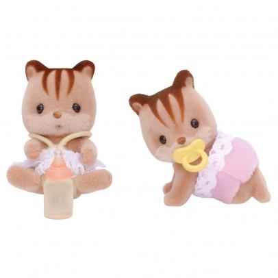 Jumeaux écureuils roux