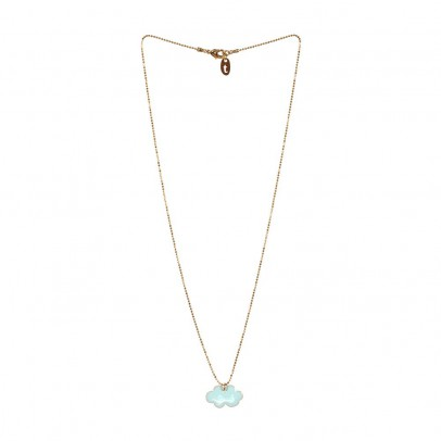 Titlee Pendentif Laiton Doré Or Fin Nuage Stanley-product
